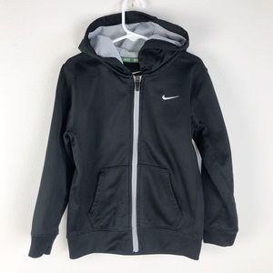 Nike Therma Fit full zip hooded jacket Black 6